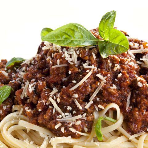Zapékané špagety s kuřecím masem