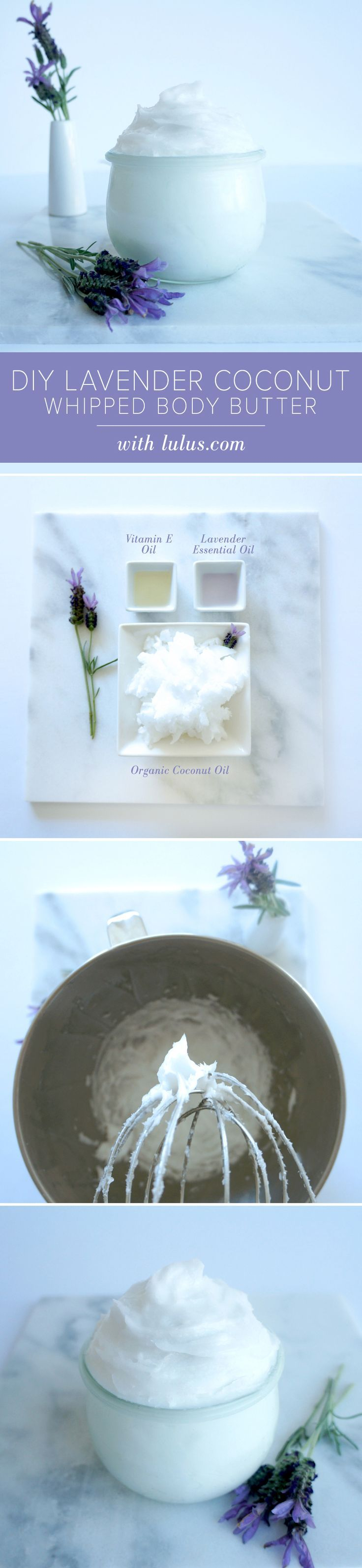 Lavender Coconut Whipped Body Butter