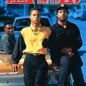 Director John Singleton's debut chronicles the trials and tribulations of three young African-American males growing up in South Central Los Angeles. When young Tre (Cuba Gooding Jr.), a bright underachiever, begins to show signs of trouble, his struggling professional mother (Angela Basset) sends him to live with his father (Lawrence Fishburne), a hard-nosed, no-nonsense disciplinarian. There he befriends Ricky (Morris Chestnut), a burgeoning football star, and Doughboy (Ice Cube, in a…