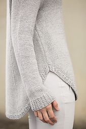 A casually chic take on a turtleneck, this piece provides comfort without compromising style. Twin Rib details, clean construction and a deep shirt-tail hem combine some favorite weekend elements into a piece that can be worn anywhere. Cozy up to this luxuriously soft sweater, knit in Baby Alpaca and Cima.