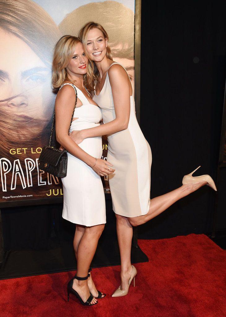 Karlie Kloss Sister Paper Towns Red Carpet NYC Pictures   POPSUGAR Celebrity