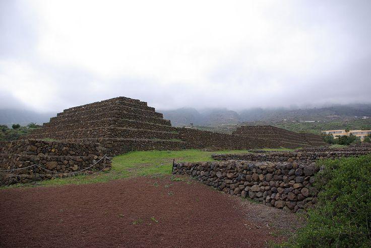The Pyramids of Güímar, Tenerife - Spain.