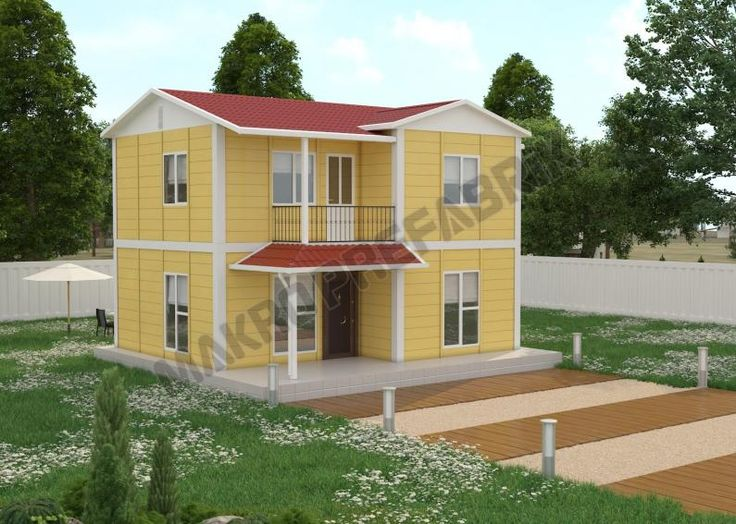 100 M² İki Katlı Evler