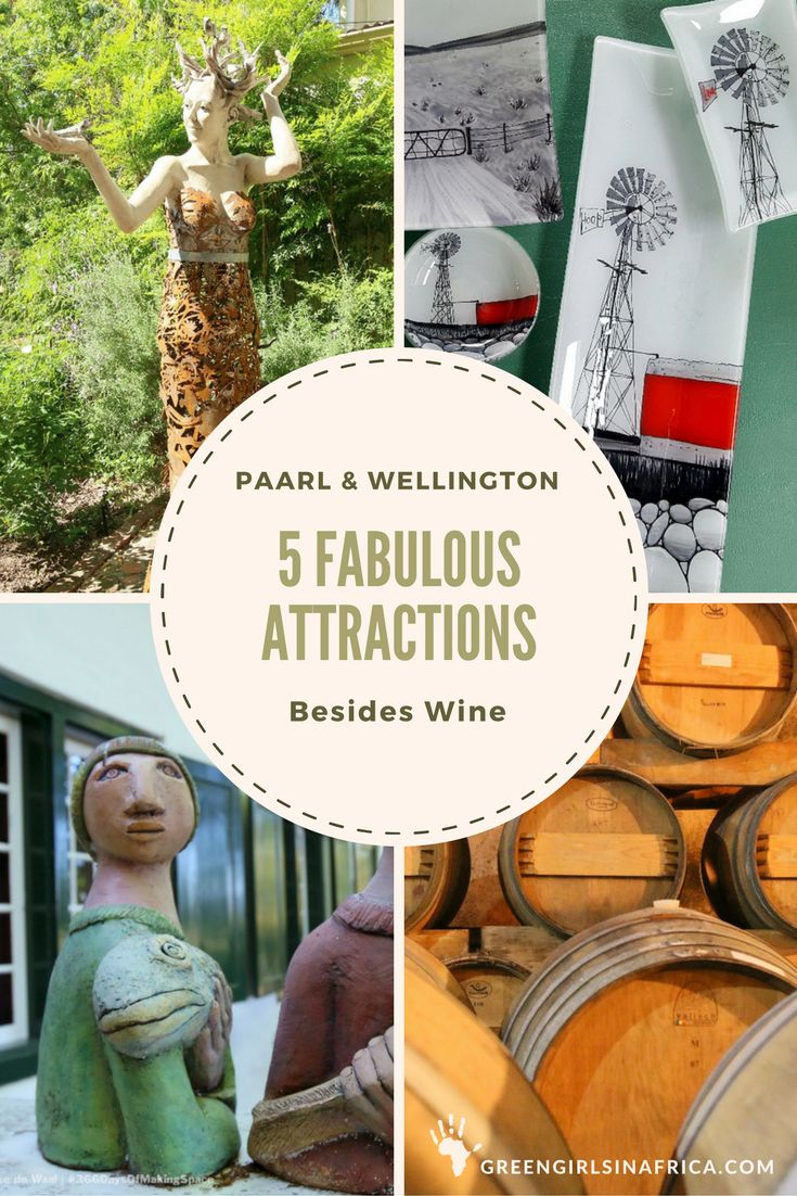 Paarl and Wellington are charming towns in the Cape Winelands (South Africa). Wine is unmistakably what the region is known for, but it has much more to offer besides wine.