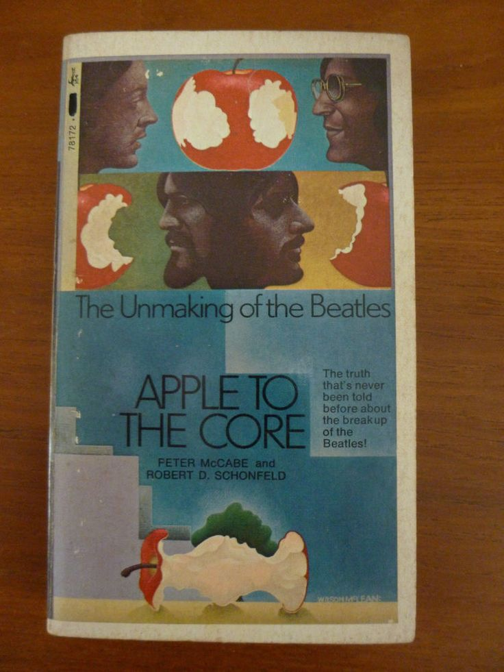 "MEGA RARE ....THE BEATLES .. ""APPLE TO THE CORE"" ....P/B BOOK ... IN EXC COND"