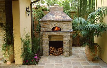 outdoor wood burning pizza ovens | ... Outdoor Wood Fired Ovens - Pizza Oven mediterranean-outdoor-pizza