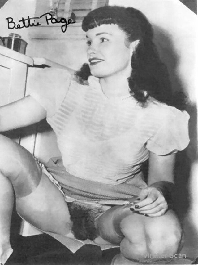 Bettie Page Hairy 23