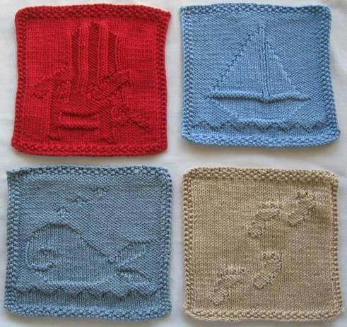 Cute washcloth patterns...