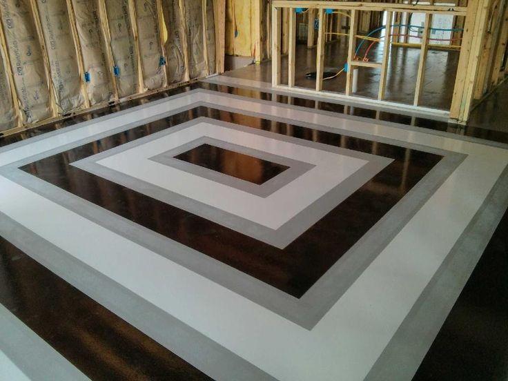 Black Stained Concrete Floors home decor Mrsilvaus