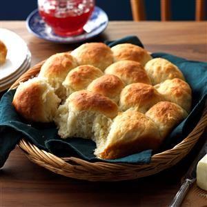 Easy Potato Rolls Recipe from Taste of Home