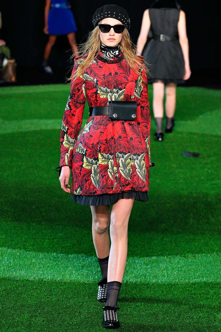 Marc by Marc Jacobs Fall 2015 Ready-to-Wear Fashion Show - Maartje Verhoef