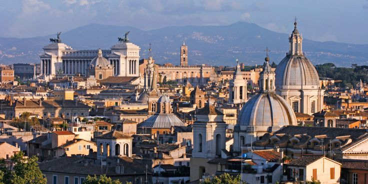 Rome Rome, Italy outdoor building sky skyline Town geographical feature cityscape City landmark urban area human settlement neighbourhood tourism metropolis Downtown cathedral panorama aerial photography
