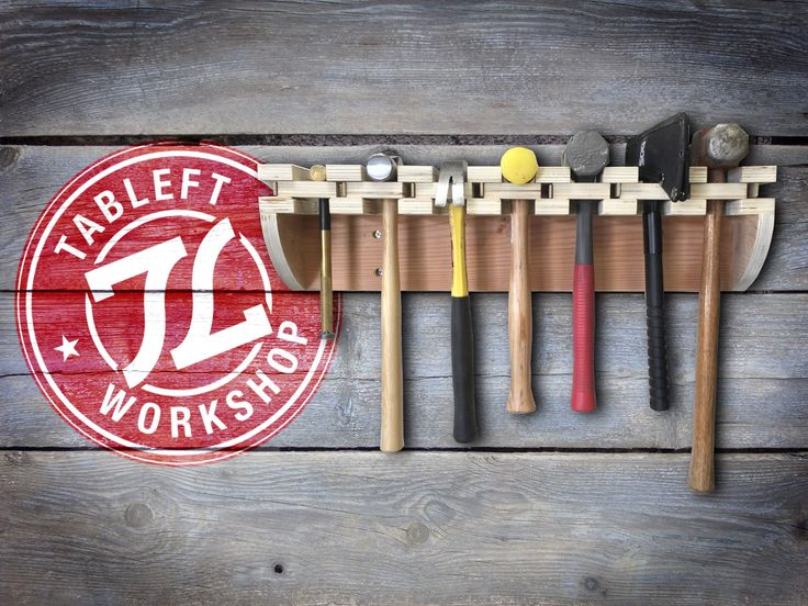 Garage Storage Ideas Build: Hammer Rack | Home & Worshop Tutorials | Garage