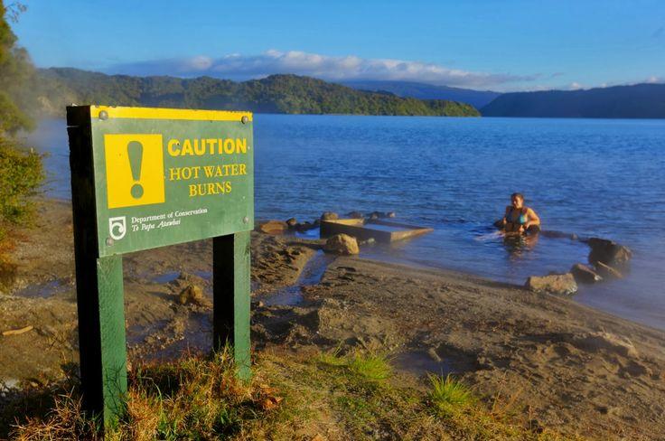 Hot Water Beach - Lake Tarawera - Rotorua