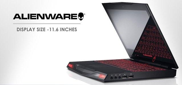 "Alienware M11X w/ 11.6"" display size  $900.00  Gaming laptop"