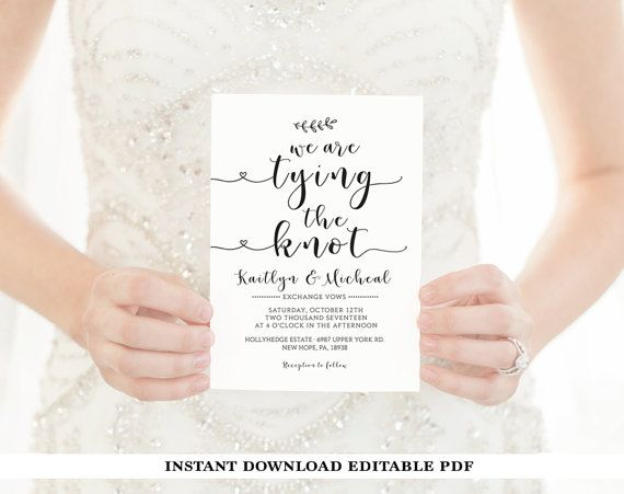 Wedding Invitation Template, Rustic Wedding Invitation, Wedding Invitation Printable, RSVP & Details Card, Editable PDF Wedding Template (scheduled via http://www.tailwindapp.com?utm_source=pinterest&utm_medium=twpin&utm_content=post160306373&utm_campaign=scheduler_attribution)