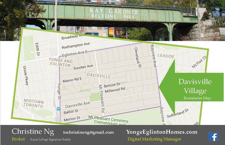 Where is Davisville Village in Toronto?  http://yongeeglintonhomes.com/where-is-davisville-village/