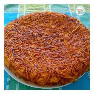 Schiscetta alla romana: Frittata di spaghetti