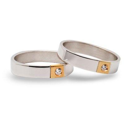 #aliança boda or bicolor #alianza boda oro bicolor Ref: 115-4