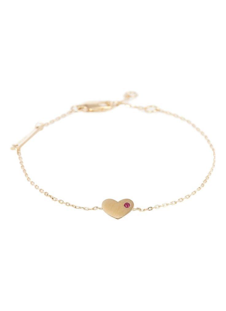 Marc Jacobs Armband Heart van zilver • de Bijenkorf