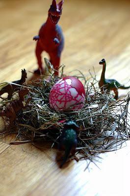Lavoretti di Pasqua per bambini UOVA DI DINOSAURO