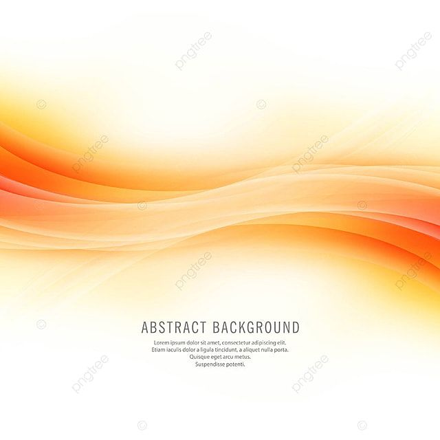 Abstract Beautiful Shiny Orange Wave Background Abstract Vector Orange Vector Wave Vector Png And Vector With Transparent Background For Free Download In 2020 Waves Background Powerpoint Background Design Background