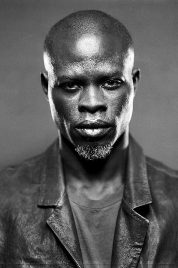Djimon Hounsou such a good actor dang amazing man!