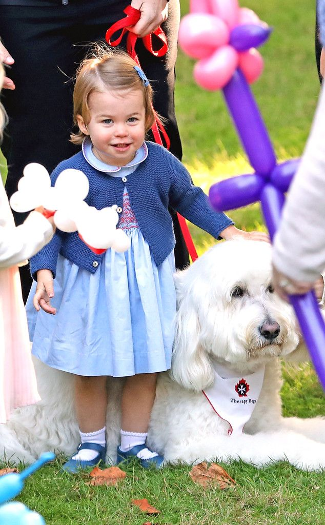Princess Charlotte & Prince George Play With Bunnies, Pop Bubbles & Melt Hearts in Canada   E! News