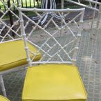 Kessler Cast Aluminum Faux Bamboo Chairs/Dining...