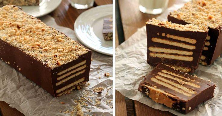 Κορμός Νutella με 4 υλικά! Μια κολασμένη σοκολατένια συνταγή!   Τι λες τώρα;