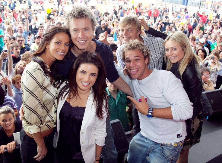 Esther & Home and Away co stars