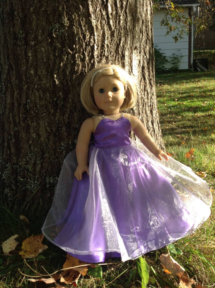 A personal favorite from my Etsy shop https://www.etsy.com/ca/listing/566618277/ball-gown-to-fit-18-dolls-such-as