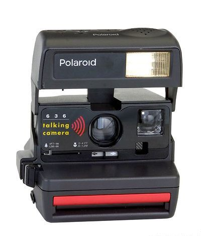 Polaroid 636 Talking Camera  Tested  with Box by DoubleRandC  #doublerandc #etsyshop #polaroidtalkingcamera #polaroid #polaroidcamera #vintagepolaroid #vinatecamera  #polaroidtested