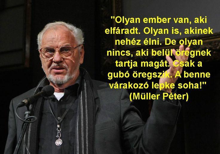 Müller Péter szavai.