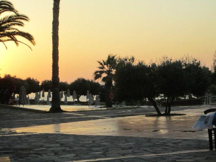 Sunset at Candia Village Hotel in Άγιος Νικόλαος, Λασίθι  photo credits @ Mariya Tocareva