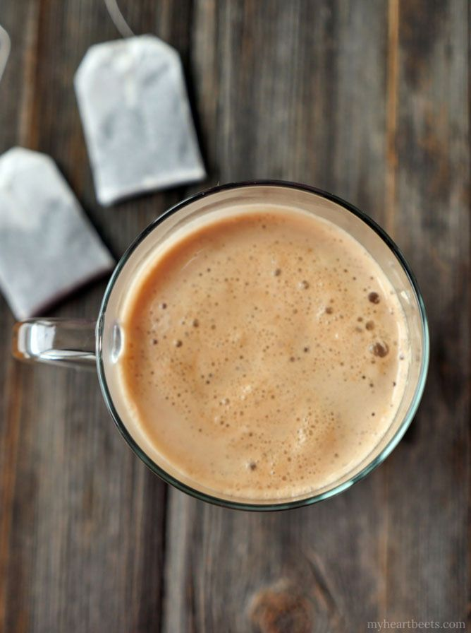 If you've never experienced the creamy, rich flavor of buttered chai ...