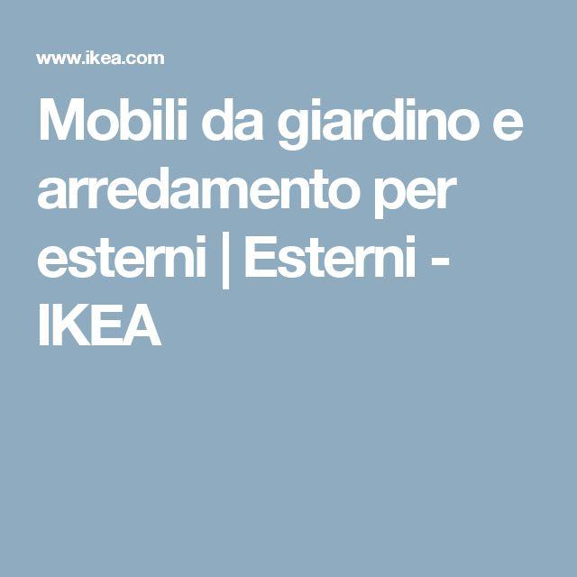 Mobili da giardino e arredamento per esterni   Esterni - IKEA