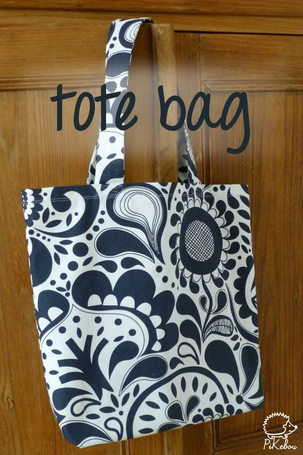 tuto tote bag pikebou                                                                                                                                                      Plus