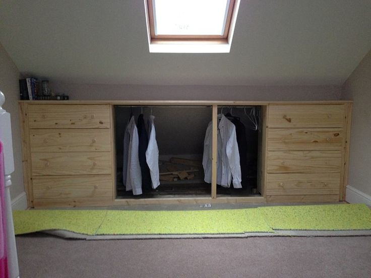 Under eaves storage TARVA hack - IKEA Hackers