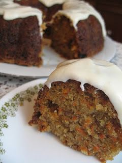 High Altitude Bundt Cakes: Carrot Cake