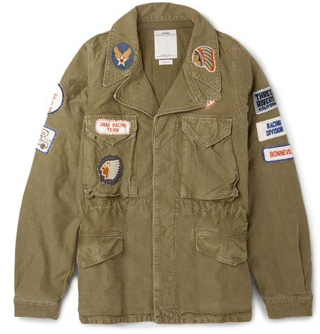Visvim Achse Cotton and Linen-Blend Field Jacket (Made in Japan) $1,800