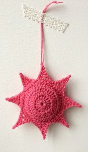 maRRose - CCC --- Crochet Christmas Stars, 3D-version, free pattern/tutorial