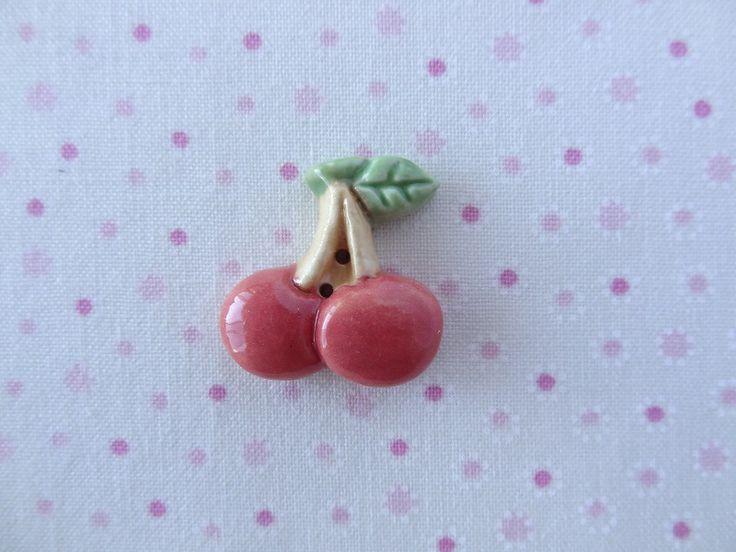 Cherries  www.cherabellabuttons.com.au
