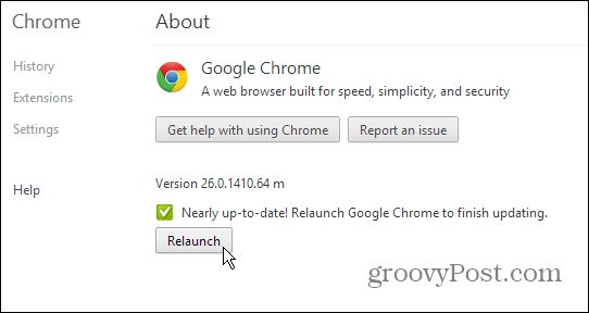 Google Chrome is set to automatically update when you restart it. But if you leave it open for days, you miss out on groovy new features. Here's how to manually update it.