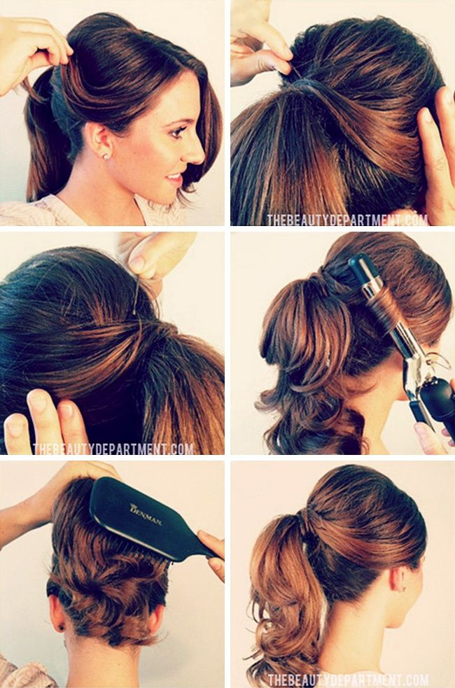 15 beautiful hairstyles for those who adore their ponytail