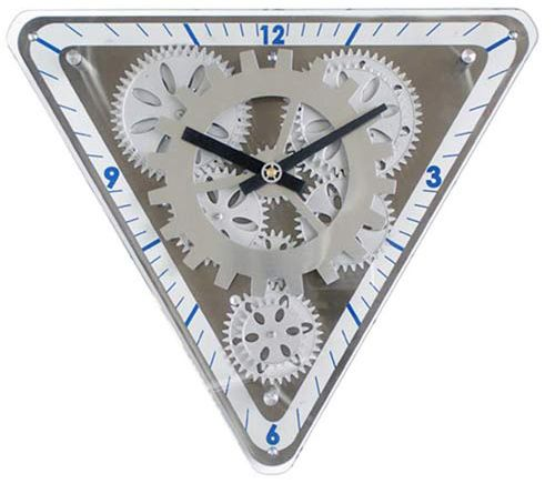 196 best hickory dickory dock images on pinterest antique clocks triangle moving gear wall clock fandeluxe Choice Image