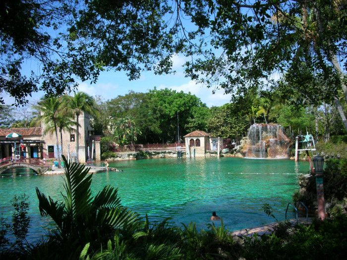 5. Venetian Pool, Coral Gables | Leave it to Florida to build the country's largest freshwater swimming pool. We were always in search of new ways to stay cool, even back in the '20s when this gem was built. Most people outside of South Florida have never heard of this hidden gem that was built in a coral rock quarry. It's the only swimming pool on the National Register of Historic Places.