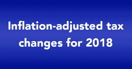 Official inflation-adjusted tax changes for 2018 are announced. The IRS has issued adjusted tax rate tables and other key tax figures for next year. The cost-of-living adjustments for more than 50 tax provisions include amounts for basic and additional standard deductions, the personal exemption and phaseout and the kiddie tax. Also listed are adjusted figures for the AMT exemption, student loan interest deduction, earned income tax credit, education income tax credit and much more. Go to…