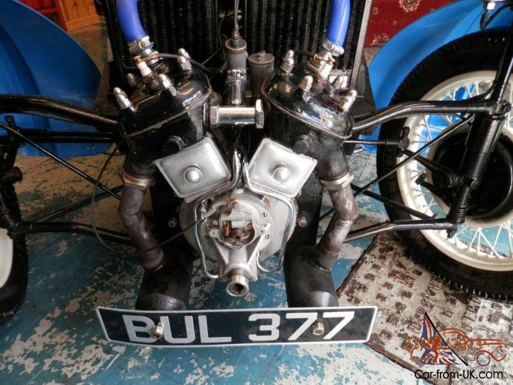 Morgan Family with side valve engine