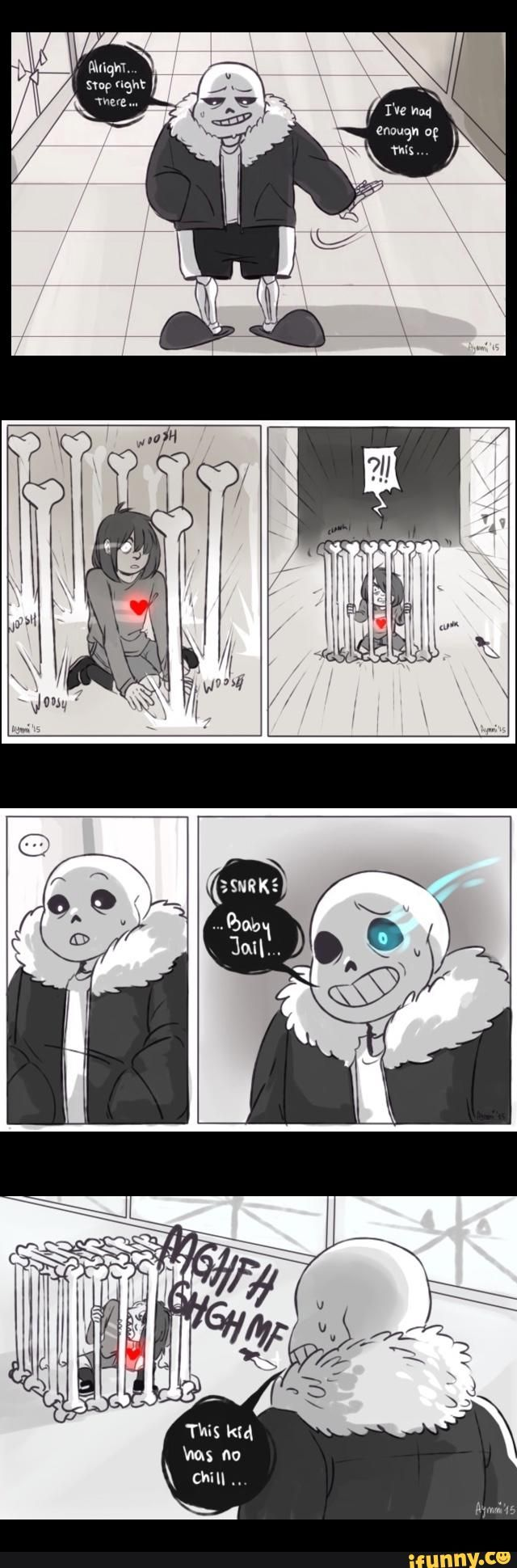 Sans and Frisk ||| Undertale Fan Art